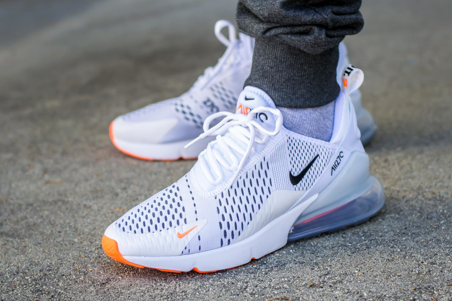 Nike Air Max 270 JDI Just Do It White Orange - @verse001
