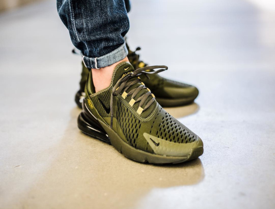 Nike Air Max 270 Olive Canvas Golden Moss - @consuelastore