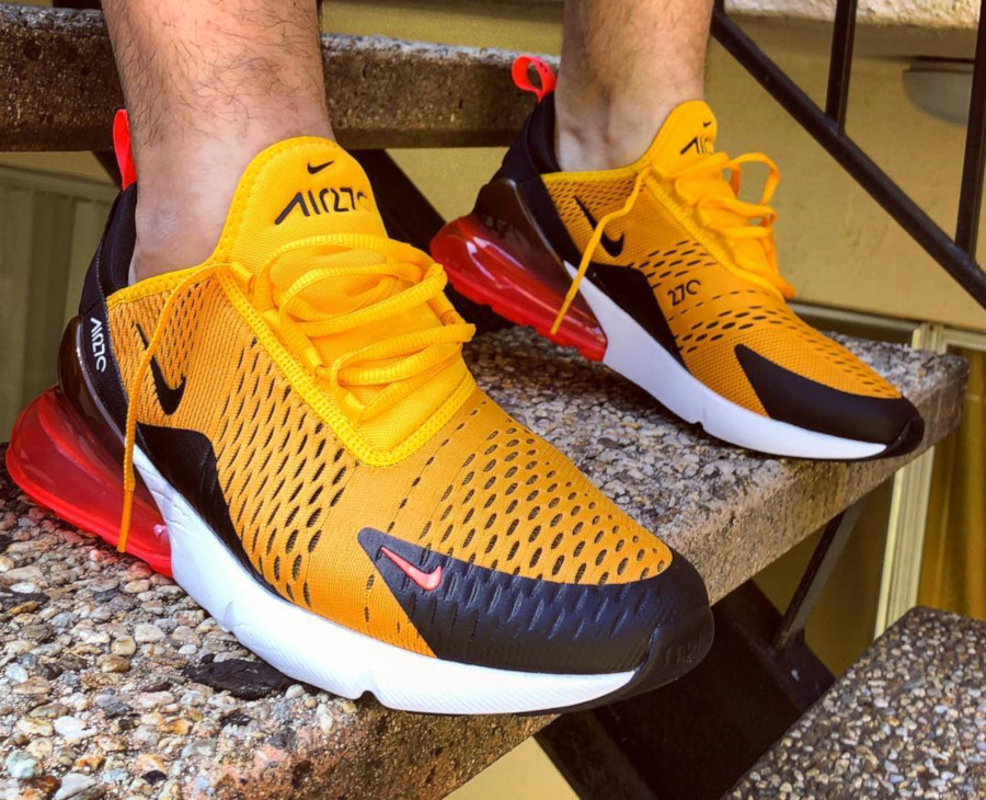 Nike Air Max 270 Orange Tiger - @afrokix