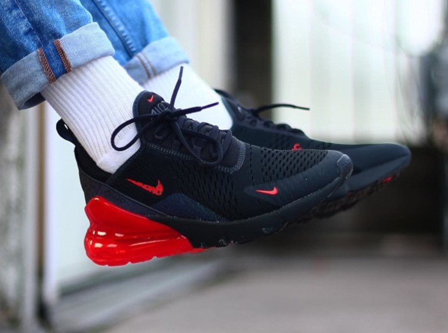 Nike Air Max 270 SE Black Reflective Safari - @ozsneakerlab