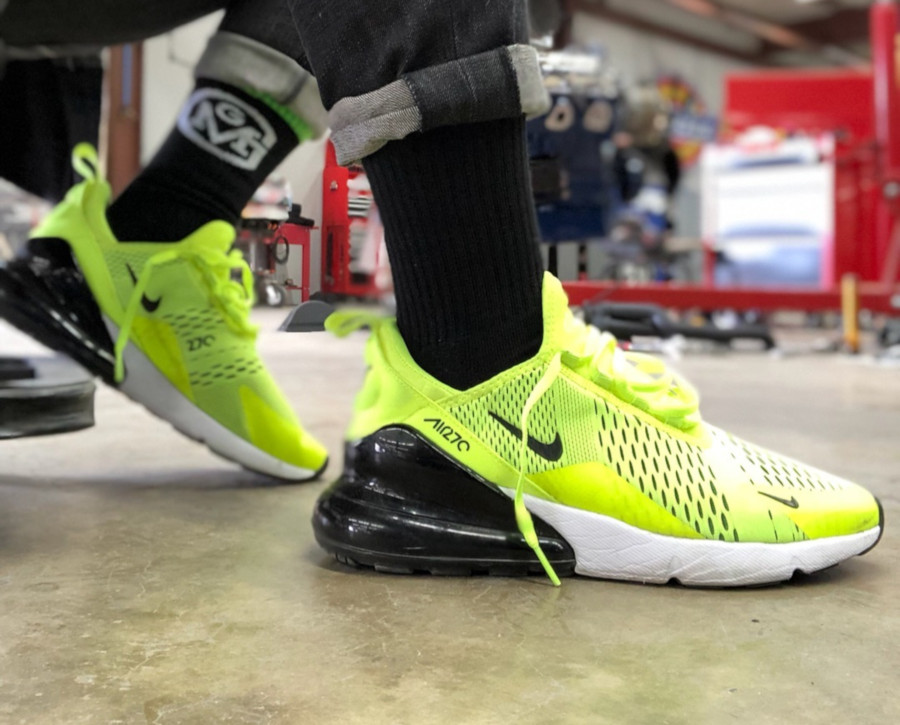 Nike Air Max 270 Volt (toute fluo) - @thekid.james