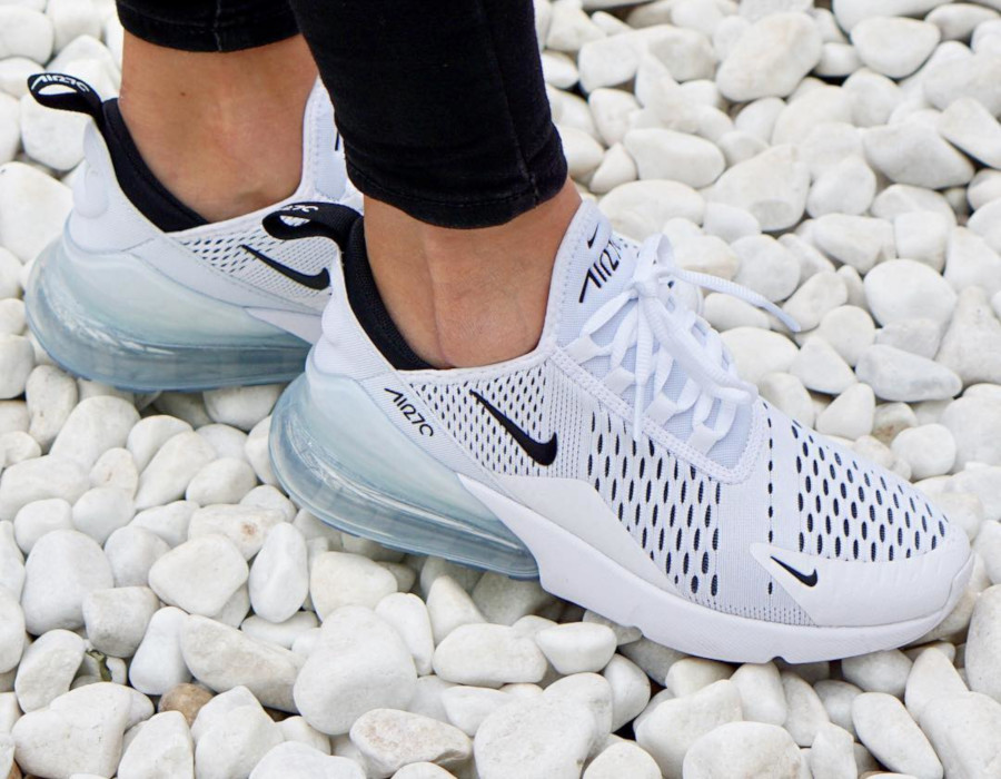 Nike Wmns Air Max 270 White Black - @carolalain22