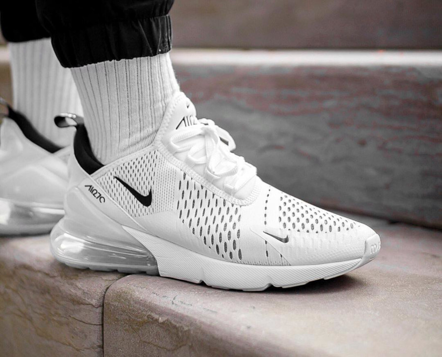 Nike Wmns Air Max 270 White Black - @cirinobrown