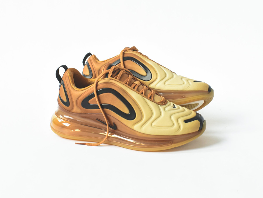 Nike Air Max 720 Club Gold Wheat Black (1)