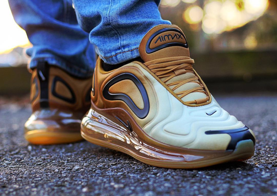 Nike Air Max 720 Club Gold Wheat Black (4-2)