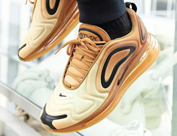 Nike Air Max 720 Desert Gold Wheat Black AR9293-700 (couv)