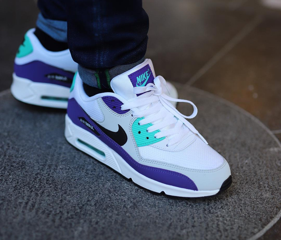 Nike Air Max 90 Essential 'Grape' White Jade Purple (3)
