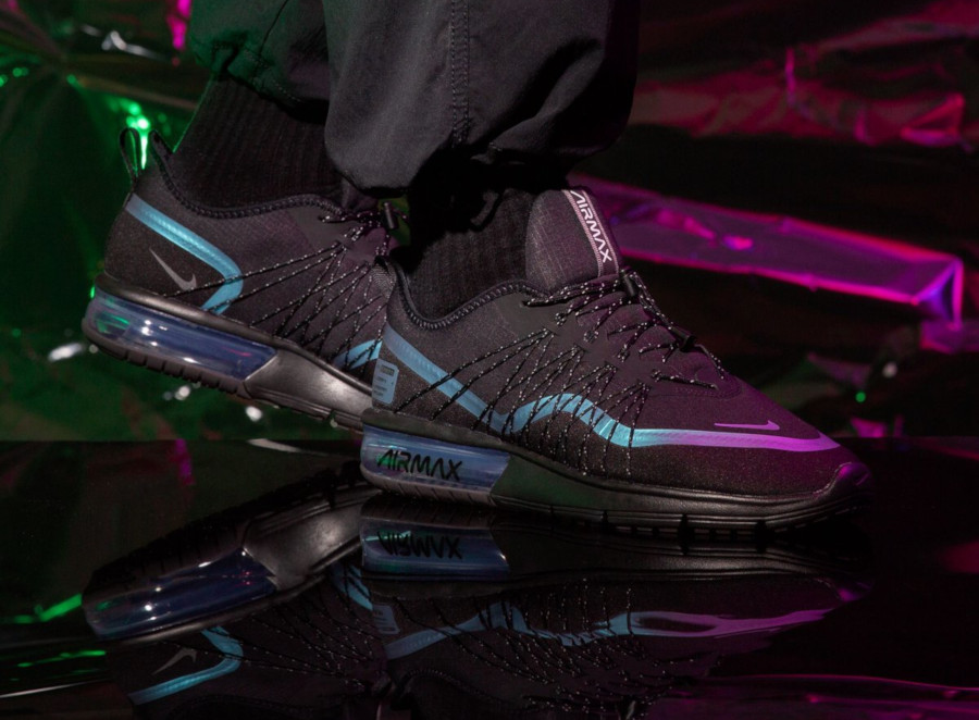 Nike Air Max Sequent 4 Shield 'Black Racer Blue' Throwback Future Pack (1)