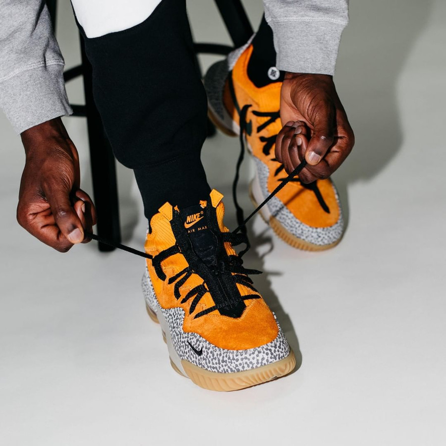 Nike Lebron 16 Low Kumquat Black (2)
