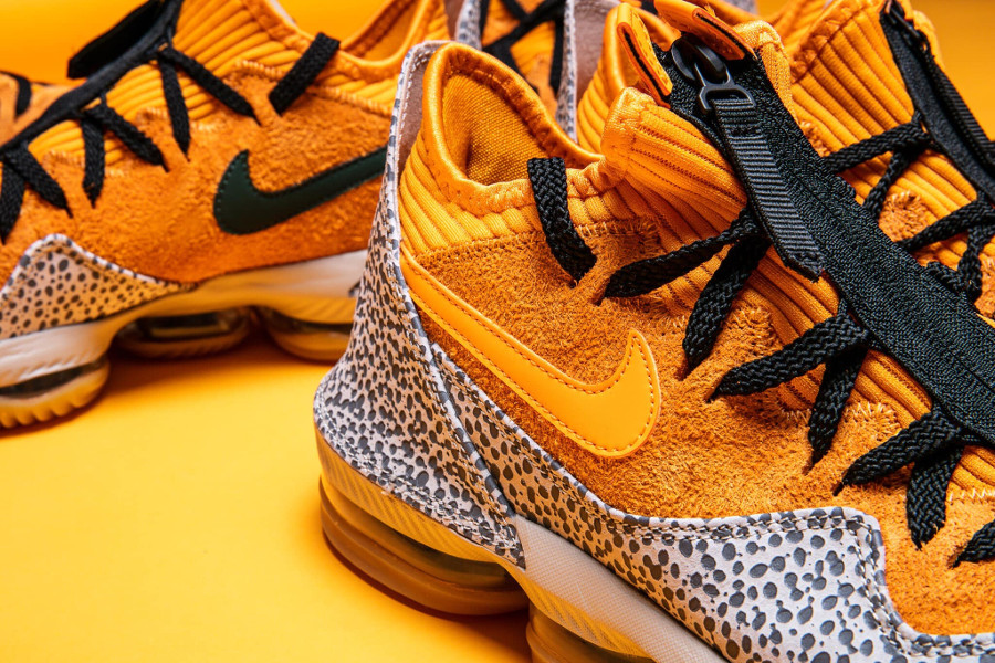 Nike Lebron 16 Low Kumquat Black (3)