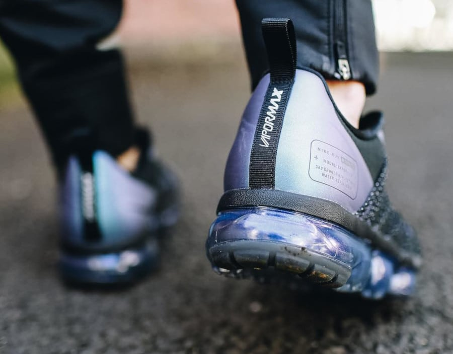 Nike Vapormax Utility Run Black Anthracite Laser Fuchsia (3)