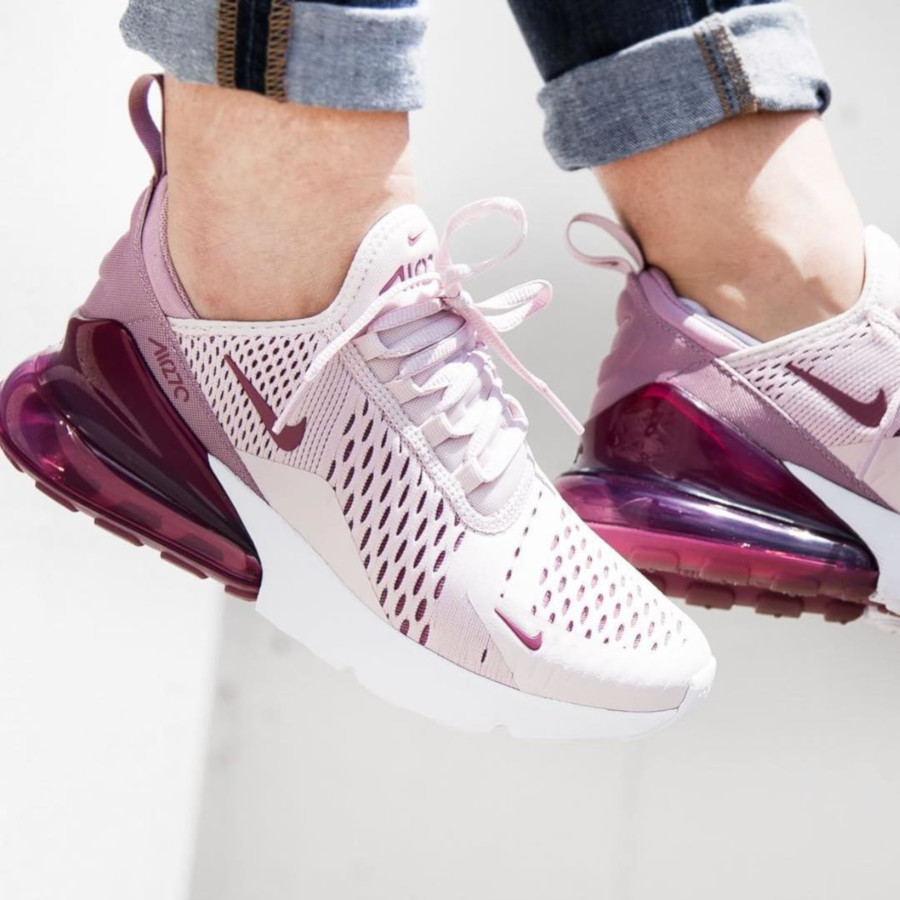 Nike Wmns Air Max 270 Barely Rose - @champssports