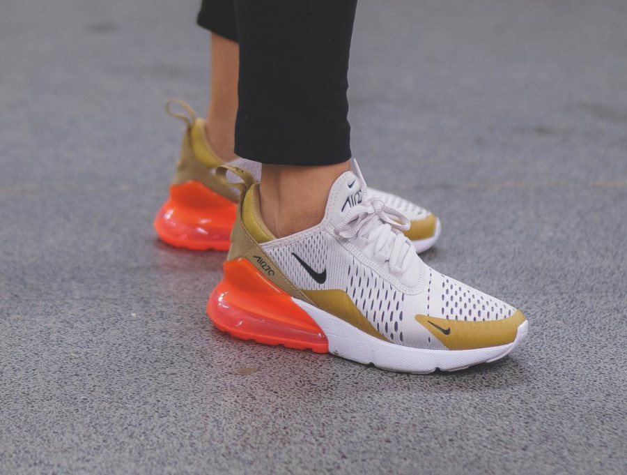 Nike Wmns Air Max 270 Flight Gold - @msrosierozzayy