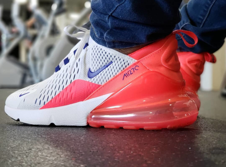 Nike Wmns Air Max 270 Ultramarine Solar Red - @meikmeik2001