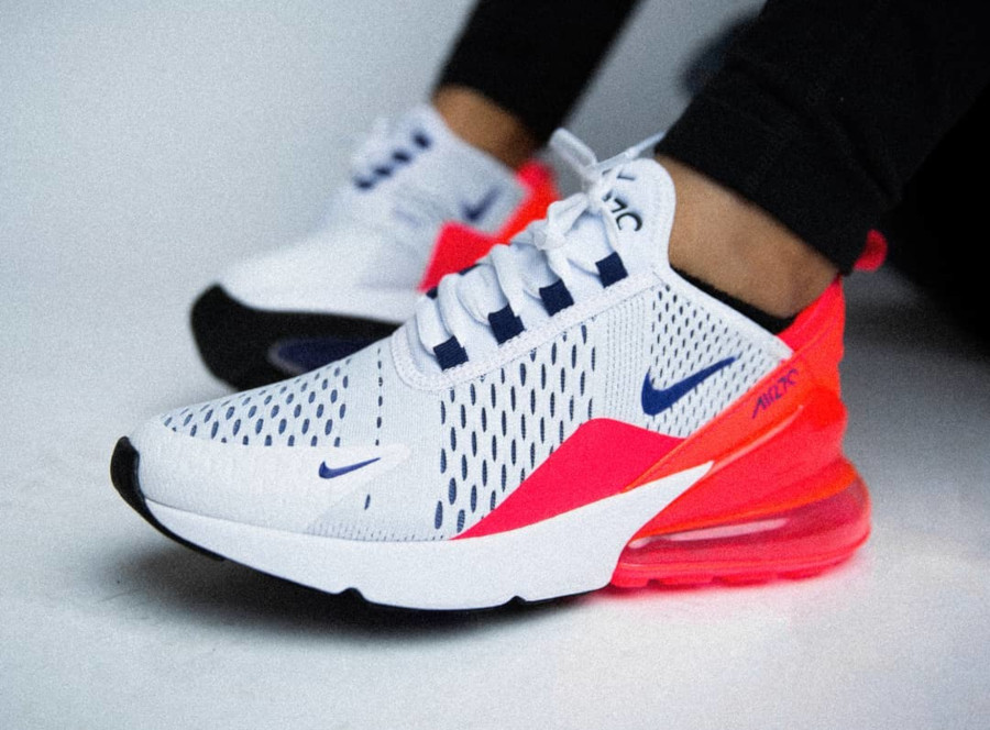 Nike Wmns Air Max 270 Ultramarine Solar Red - @shiekh