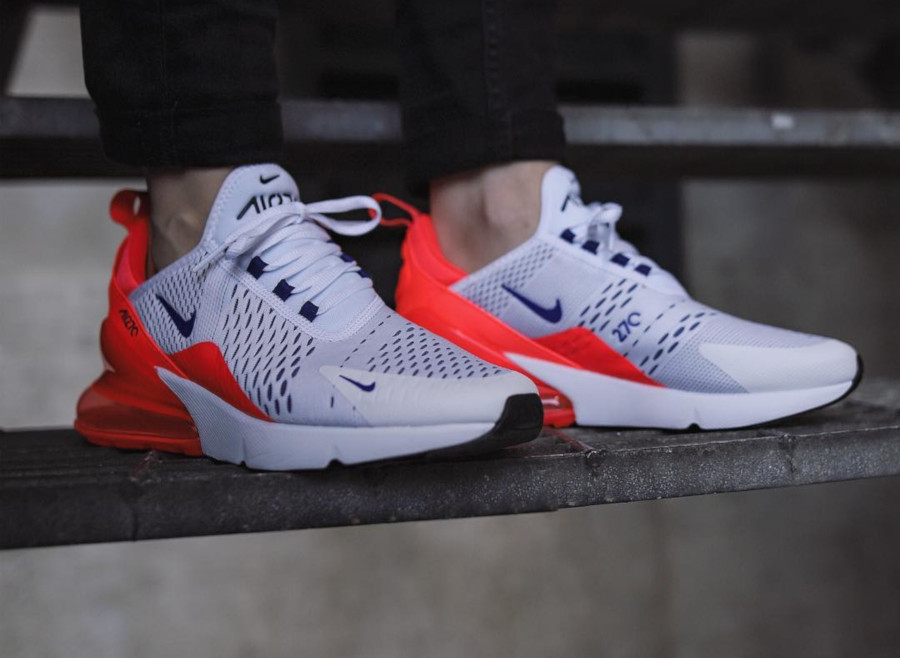 Nike Wmns Air Max 270 Ultramarine Solar Red - @sidewalkhustle