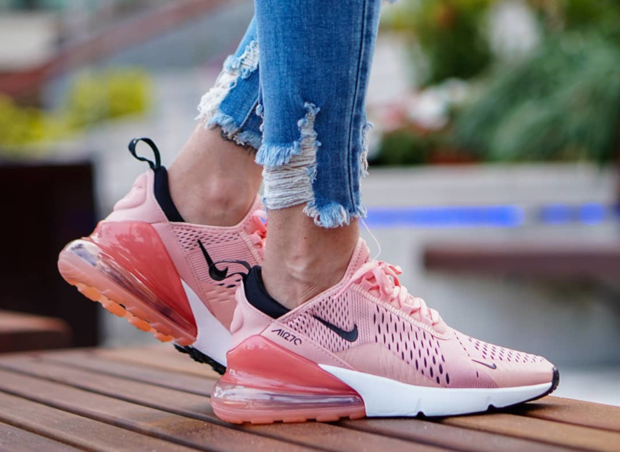 Nike Wmns Air Max 270 rose Coral Stardust - @sole_verses