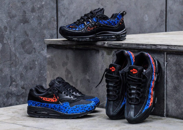 Nike Wmns Air Max PRM Black Leopard Habanero Red