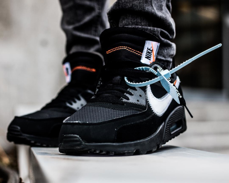 Off White x Nike Air Max 90 Black Cone - @oscar_shepherd21