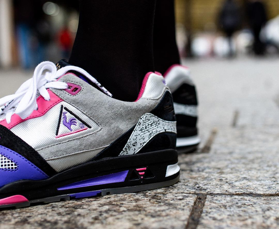 Opium x Le Coq Sportif LCS R1000 Made in France femme (1)