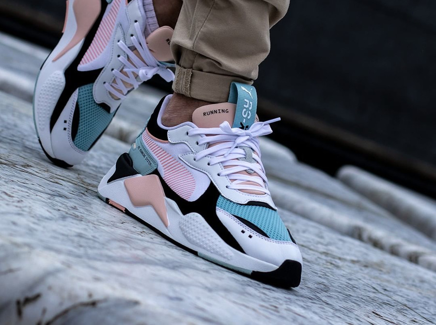 Puma RS-X Reinvention White Peach Bud