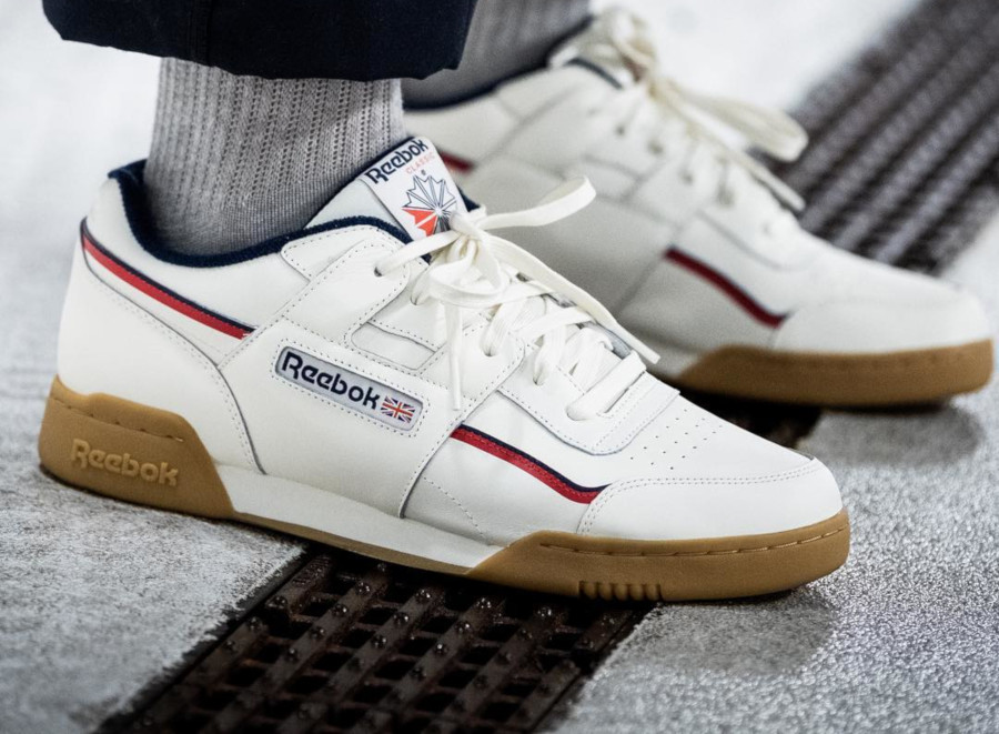 Reebok Workout Plus MU White Navy Red