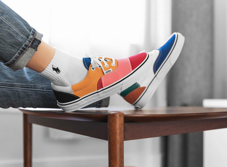 Vans Era 'Patchwork' Multi/True White
