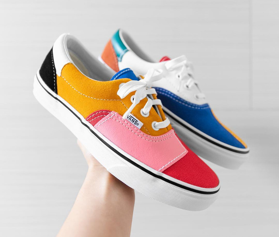 Vans Era Patchwork Multi True White (1)