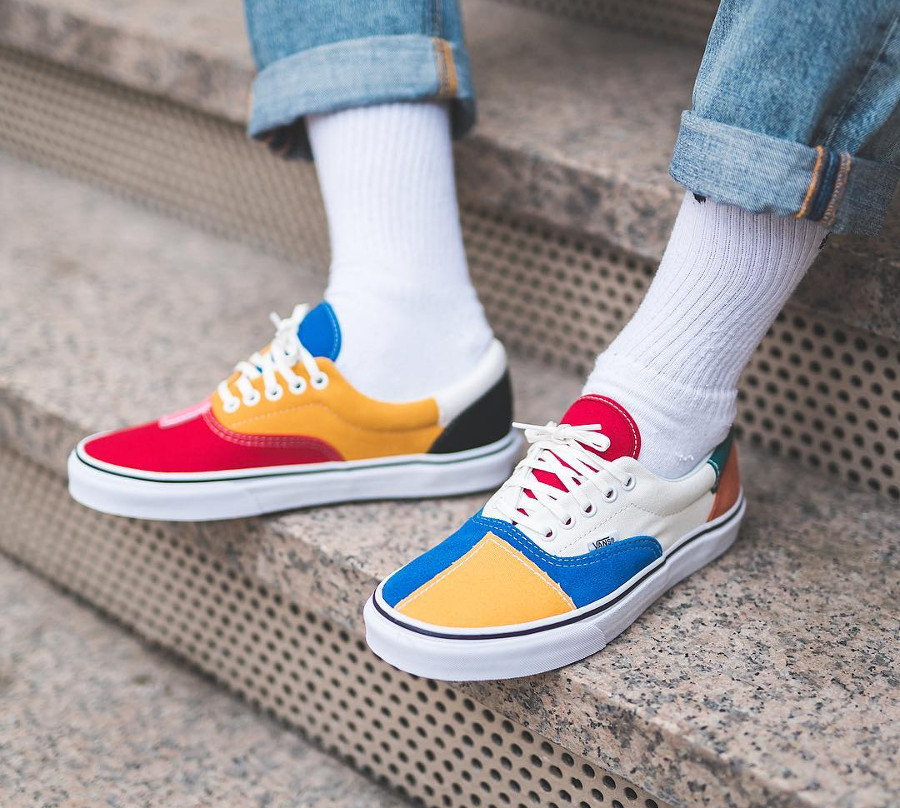 Vans Era Patchwork Multi True White (2)