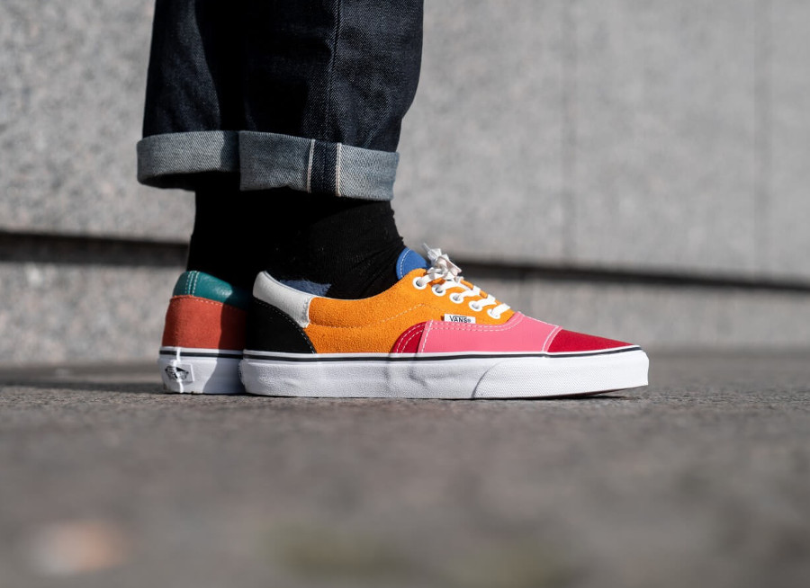 Vans Era Patchwork Multi True White (5)