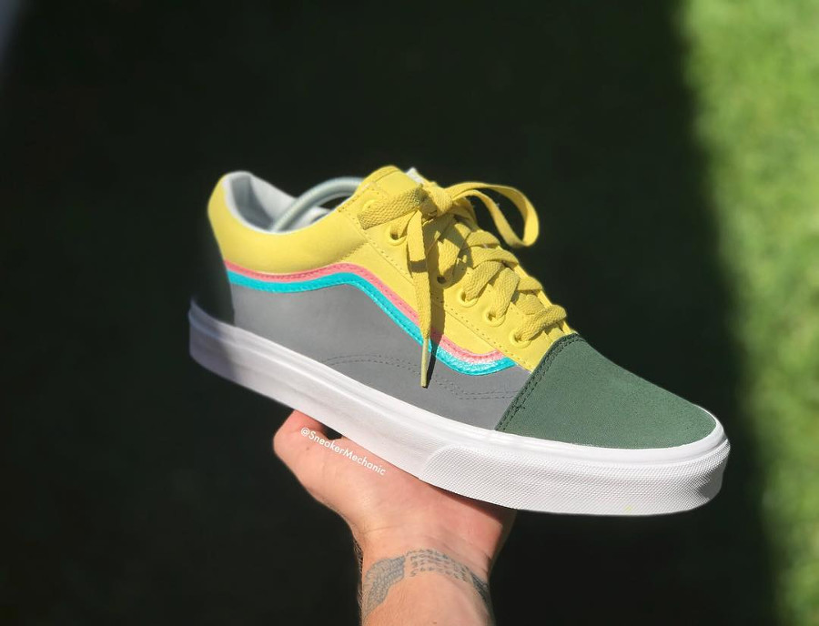 Vans Old Skool Sean Wotherspoon - @sneakermechanic