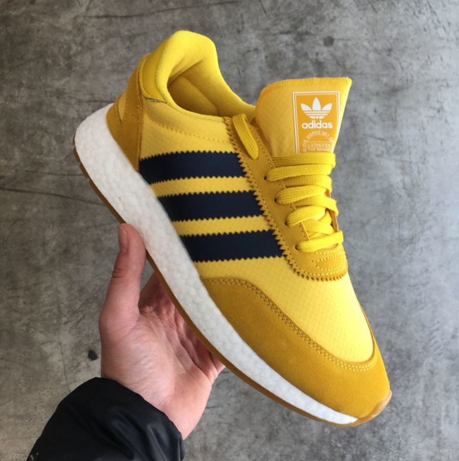 Adidas I-5923 Iniki jaune Tribe Yellow Wu Tang BD7612