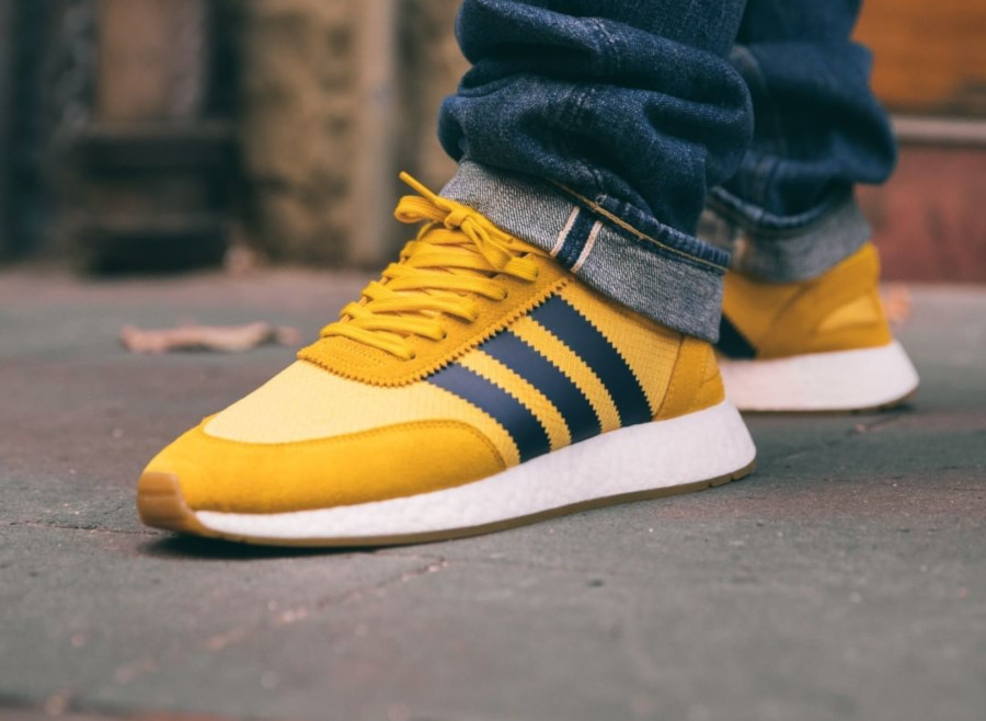 Adidas I-5923 Tribe Yellow (1)