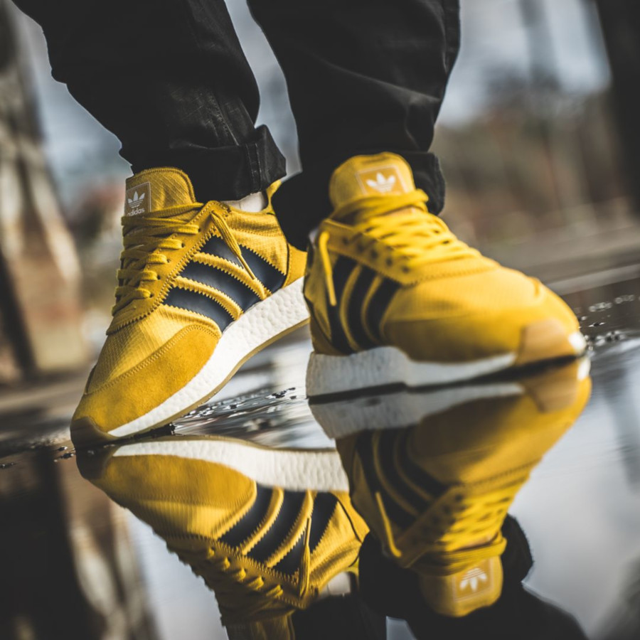 Adidas I-5923 Tribe Yellow (2)