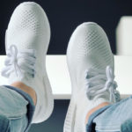 Adidas NMD R1 Primeknit FTWR White Linen Green