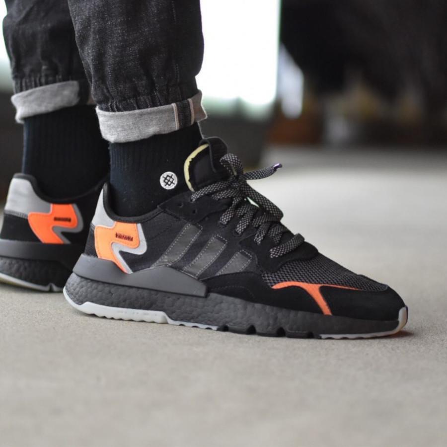 Adidas Nite Jogger Core Black Carbon - @ronny_ron