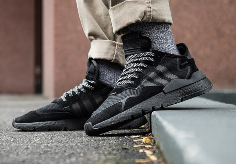 Adidas Nite Jogger 'Triple Black' (1)