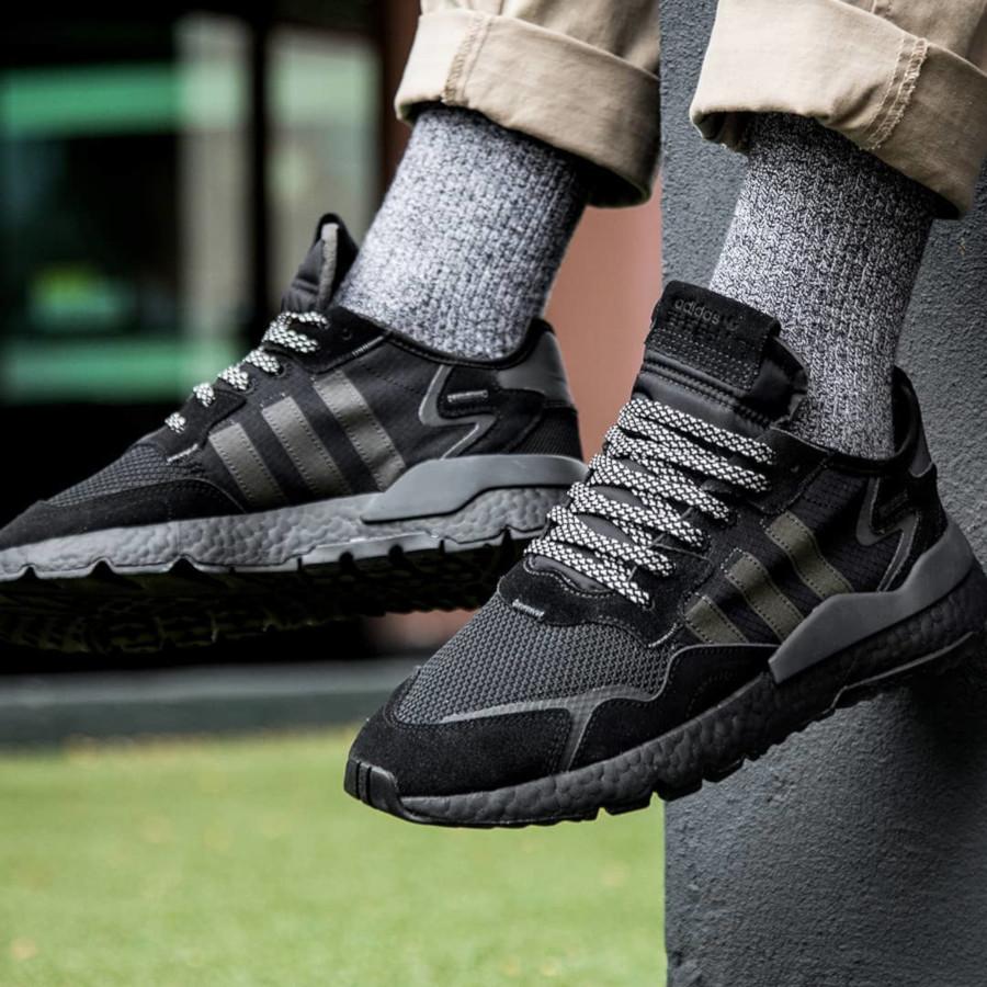 Adidas Nite Jogger 'Triple Black' (2)