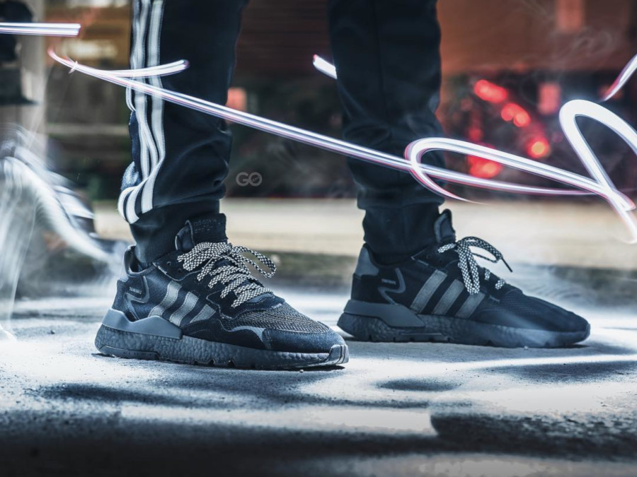 Adidas Nite Jogger noire Triple Black BD7954