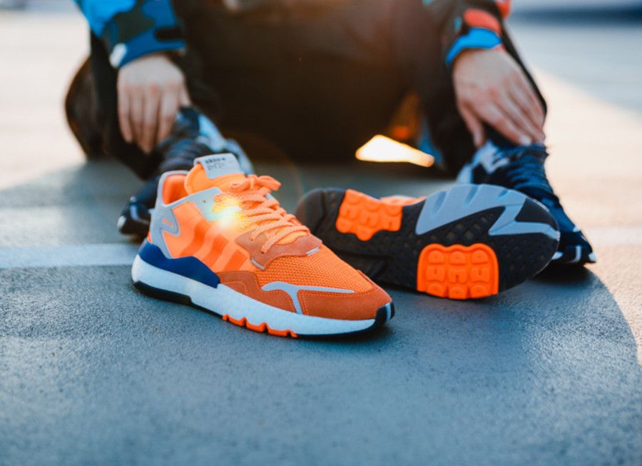 Adidas Nite Jogger orange vif (exclusivité JD Sports) (3)