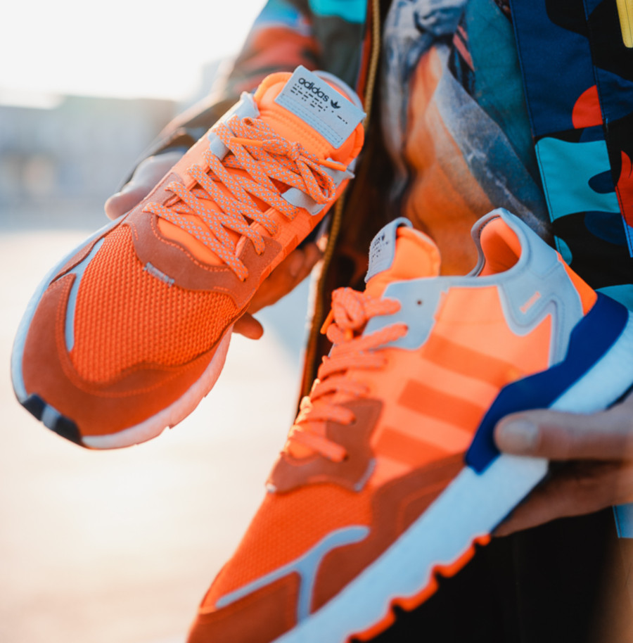 Adidas Nite Jogger orange vif (exclusivité JD Sports) (4)