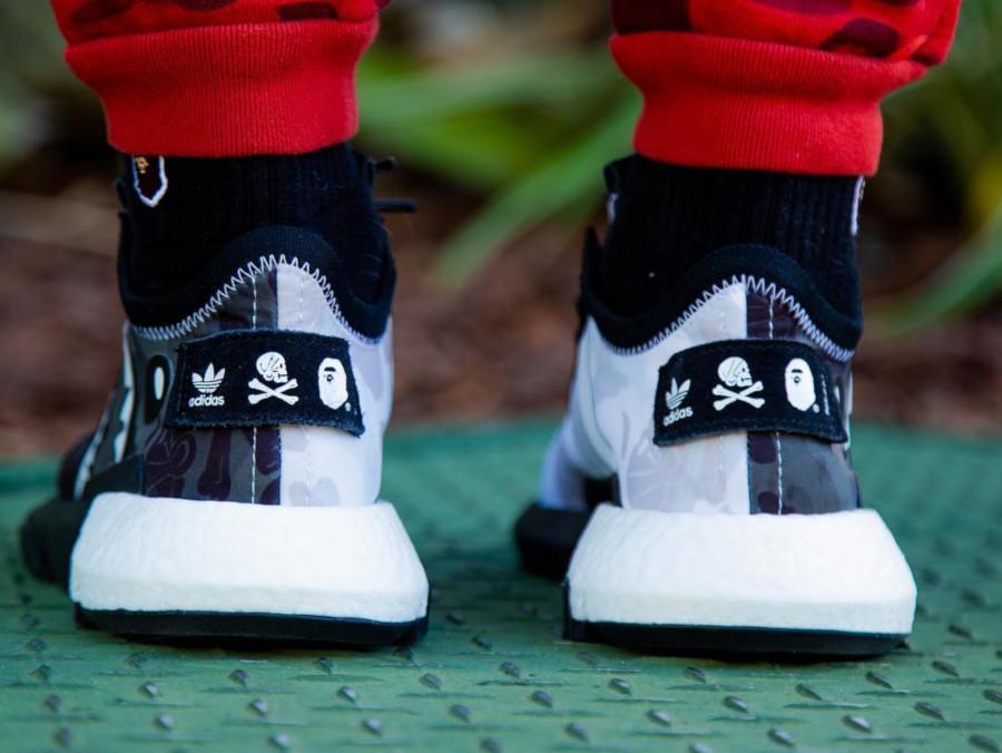 Adidas Pod S3.1 imprimé camouflage noir et blanc (tête de requin) (3)