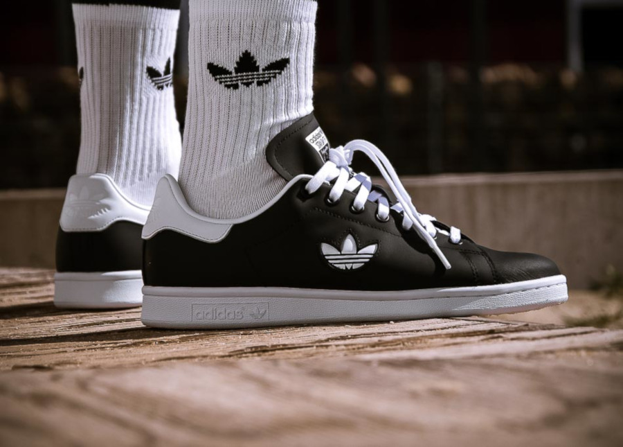 Adidas Stan Smith Black White Trefoil Pack (1)