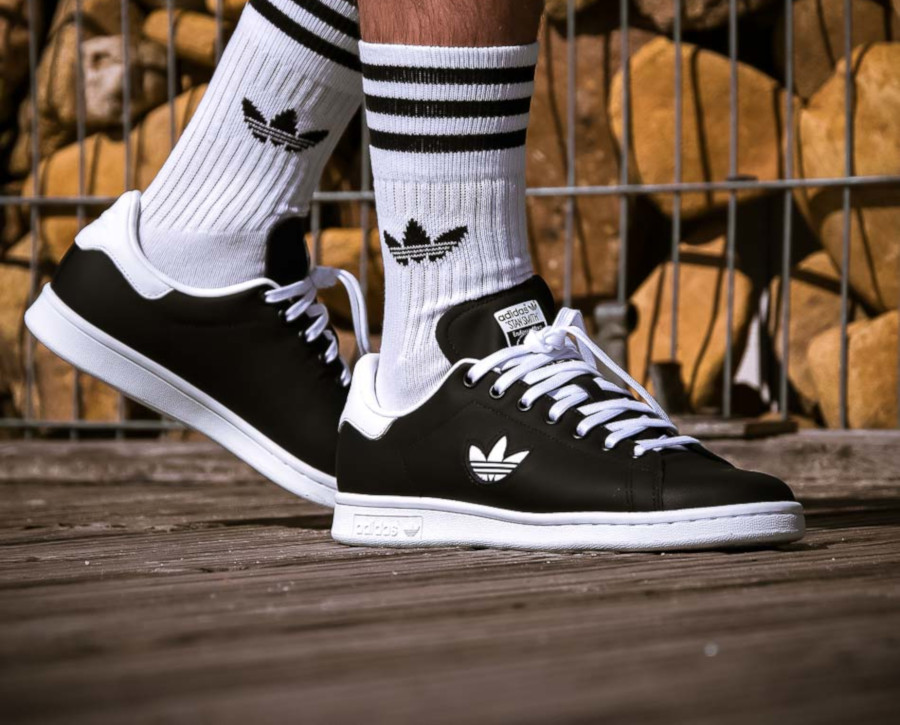 Adidas Stan Smith Black White Trefoil Pack (2)