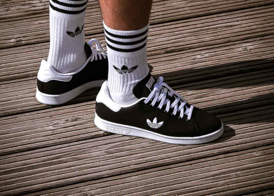 Adidas Stan Smith Black White Trefoil Pack (4)