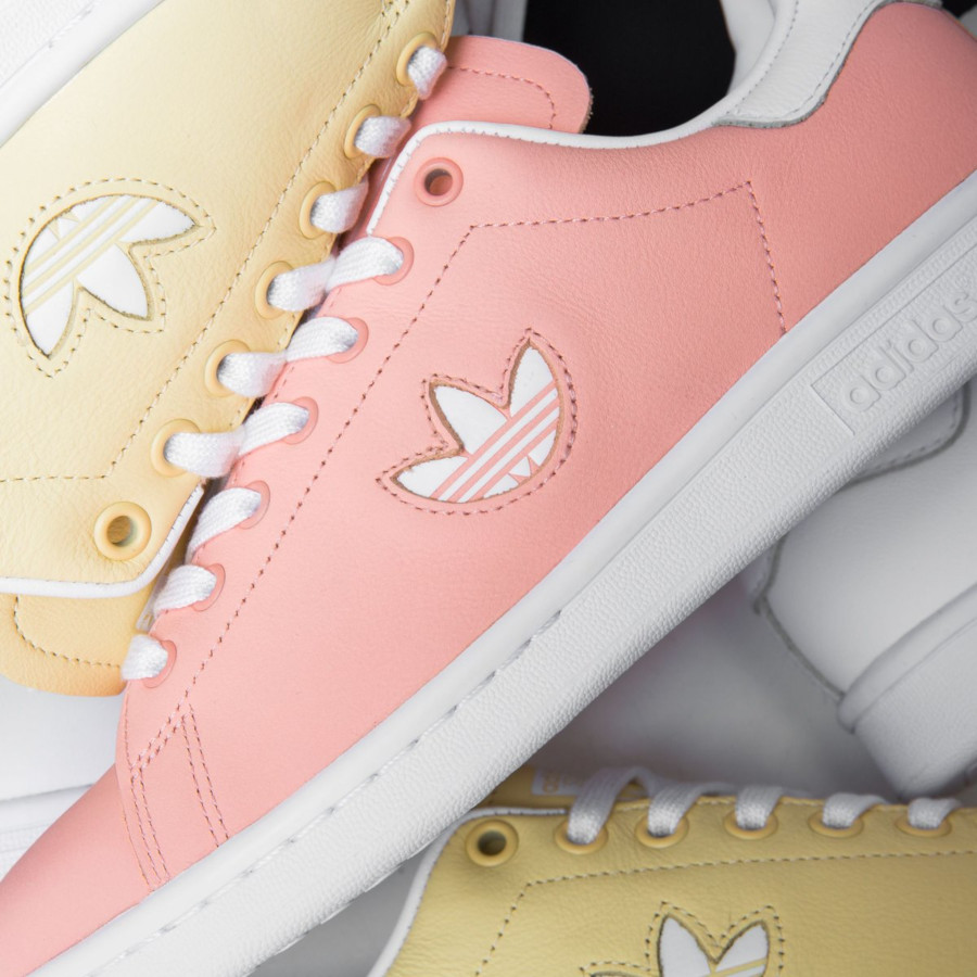 Adidas Stan Smith W Rose Clear Orange Trefoil Pack
