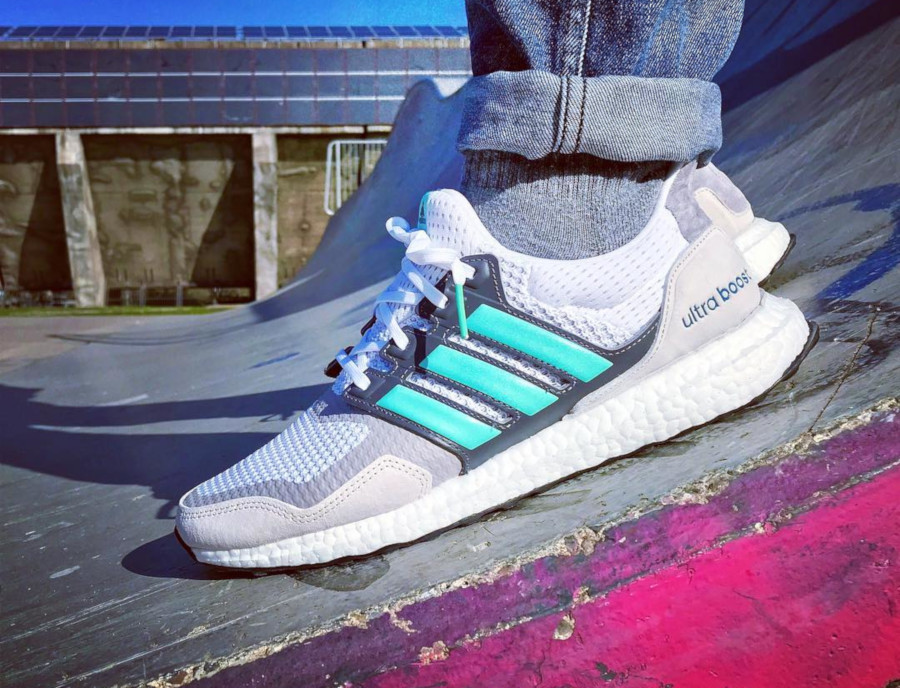 Adidas Ultra Boost S & L Grey Mint - @dude.deeds
