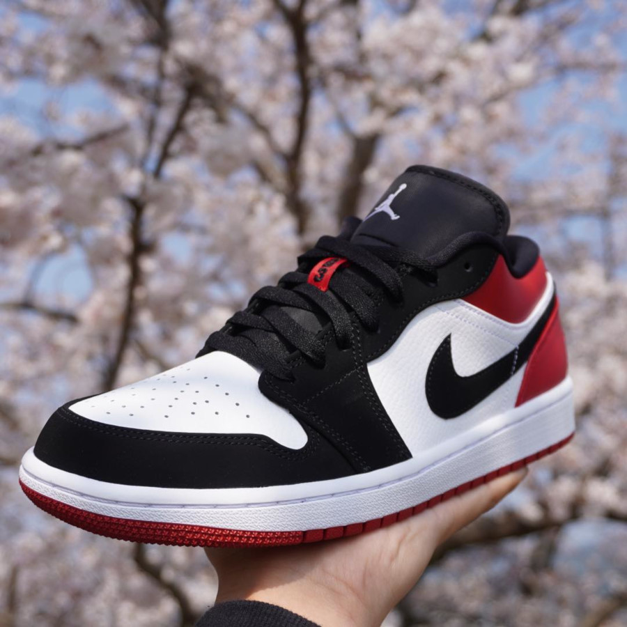 air jordan 1 low rouge femme