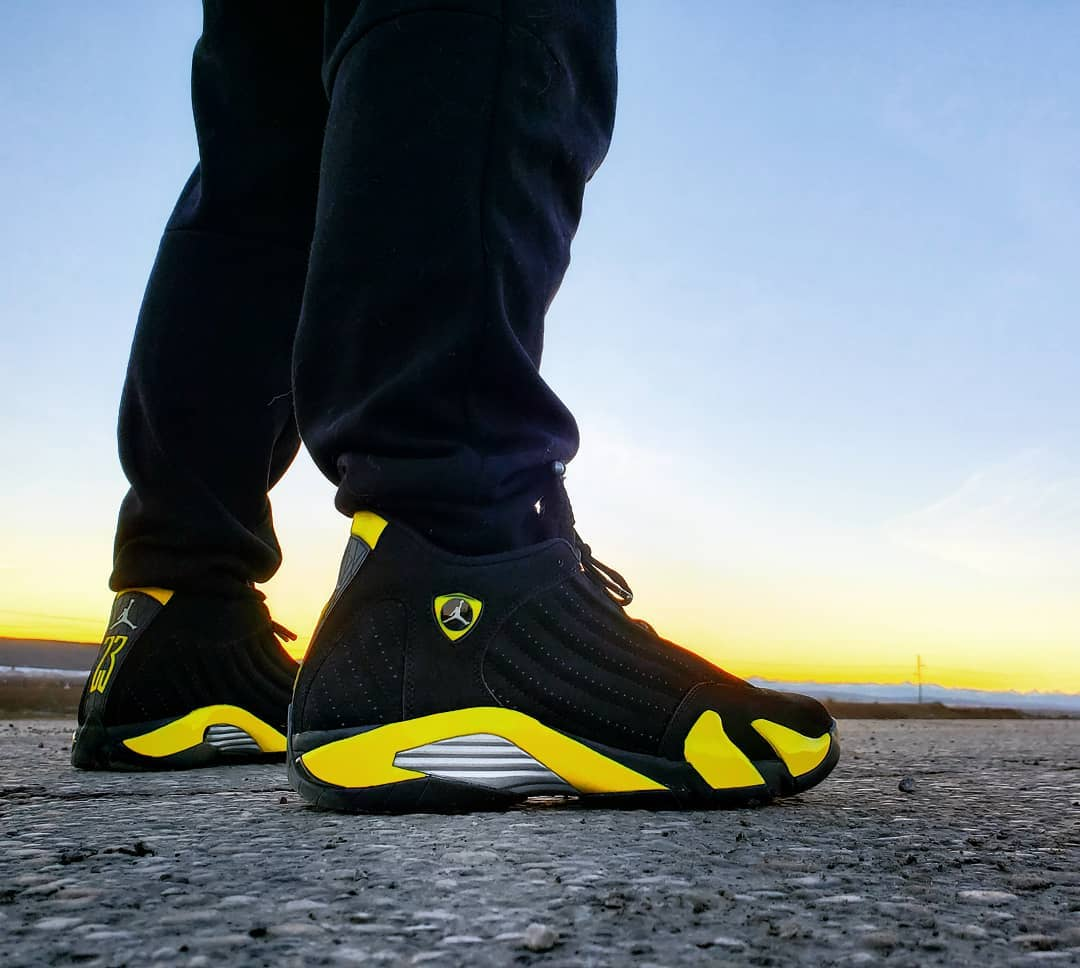 Air Jordan 14 Retro Thunder Wu Tang - @ravishingacs