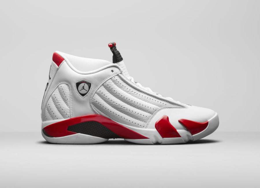 Air Jordan XIV White Red